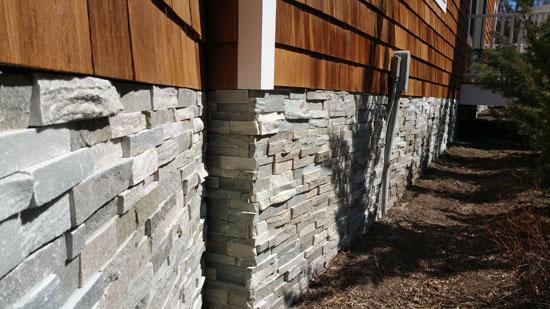 Long Island Cultured Stone Stone Facing Masonry